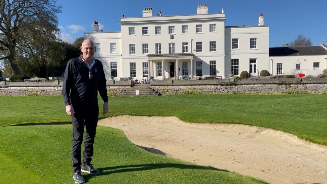 charles kislingbury, golf captain, exeter golf and country club